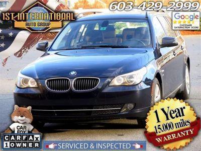 2010 BMW 5-Series 535xi (Blue)