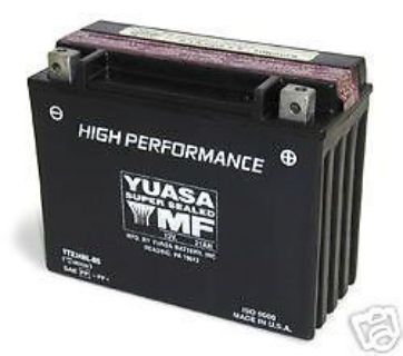 Purchase YTX24HL-BS Genuine YUASA Battery ZG1200 Voyager XII KZ1300 Touring ZG Warranty motorcycle in Sugar Grove, Pennsylvania, United States, for US $126.94