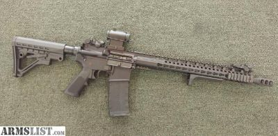 For Sale: Anderson AR-15 with red dot