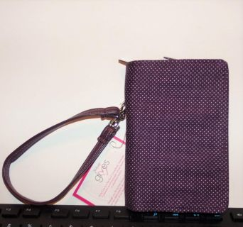 THIRTY ONE GINGHAM POP WRISTLET WALLET