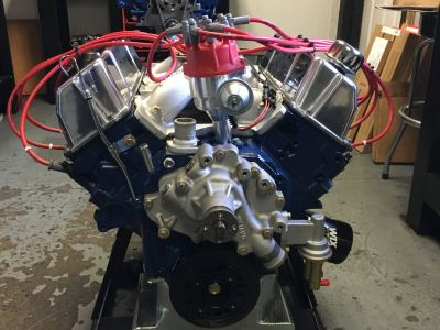 Ford 351C Stroker Complete Engine 404cuin. SBF Mustang JE Sc