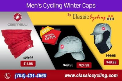 Winter Sale – Exclusive Offer on Castelli Men Caps | Classic Cycling