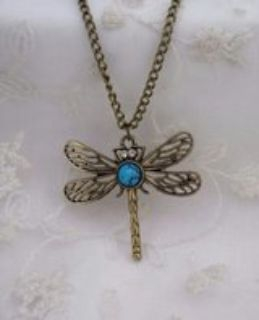 NEW DRAGONFLY NECKLACE