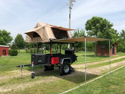 1948 Converto  Willys Jeep Trailer T-6