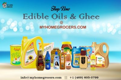 Shop Now Edible Oils & Ghee Online @ MyHomeGrocers