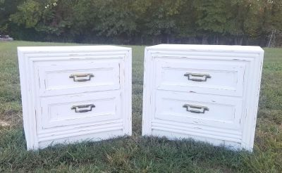 Matching Farmstyle Nightstands($100 Each)