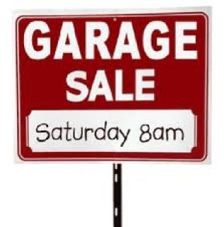 Garage Sale with new and gently used items- SATURDAY 5/18 (8a-3p)