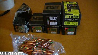 For Sale: Nosler Ballistic Tip .308 projectiles