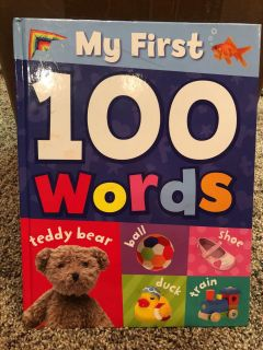 My First 100 Words Book. Very Nice Condition