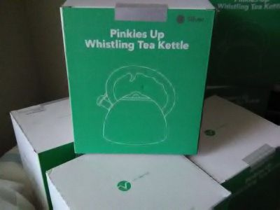 Pinky's up kettles