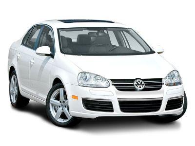2008 Volkswagen Jetta SE (White)