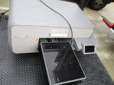 Ricoh Ri 3000 DTG Printer w/ Geo Knight DK20A RTR#8041095-01