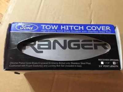 New Ford Ranger Logo Tow Hitch Cover Plug