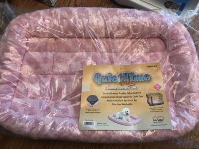 Pink Bolster Bed