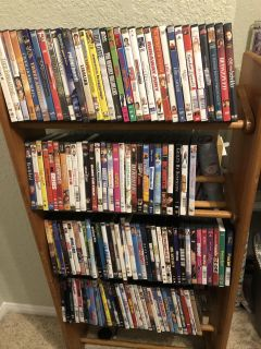 DVDs and stand ALL