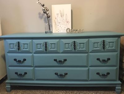 Beautiful Refinished Solid Wood Dresser/Buffet