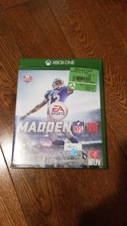Madden 16 NFL xbox one game