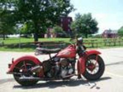 1946 Harley-Davidson Knucklehead Red