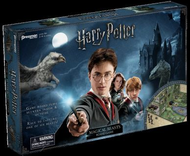 New! Harry Potter Magical Beasts Board Game ~Ages: 8+