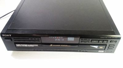 Sony CDP-CE405 Programmable 5CD Compact Disc Changer Player Carousel