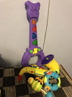Musical instruments for little people