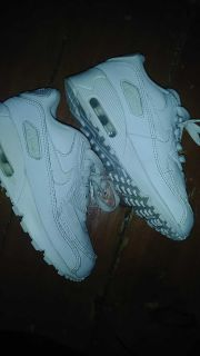 12 White nike air max good condition just need a wipe down