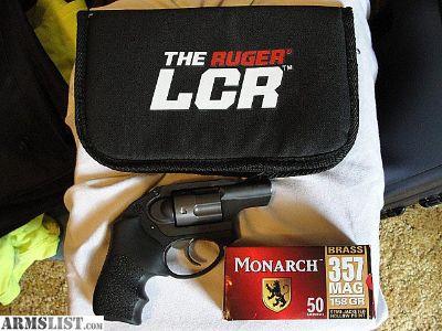 For Sale/Trade: Ruger LCR 357 Magnum