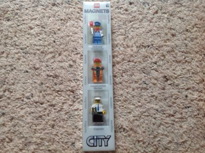 3 City LEGO Figures