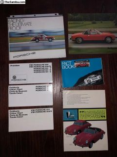 Porsche Literature '67-'74 sell as Lot or ?