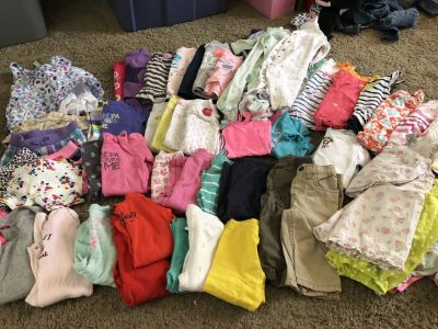 9 Month Clothing Lot