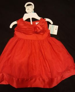 NWT Beautiful Red Dress for 6 month old baby