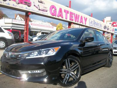 2016 Honda ACCORD SEDAN 4dr I4 CVT Sport (Crystal Black Pearl)