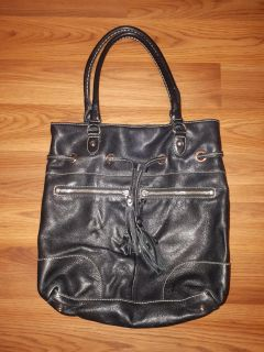 Authentic Roots Leather Tote Bag
