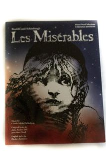 Les Mis rables Piano/Vocal Selection Book
