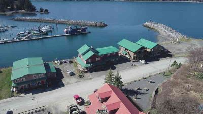 257 Main Street Seldovia Four BR, Beautiful waterfront building