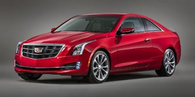 2019 Cadillac ATS Coupe Luxury RWD (Crystal White Tricoat)