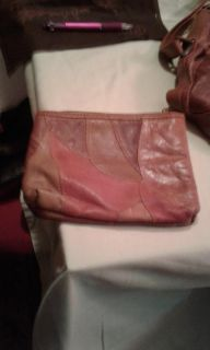 Leather small bag to go in purse