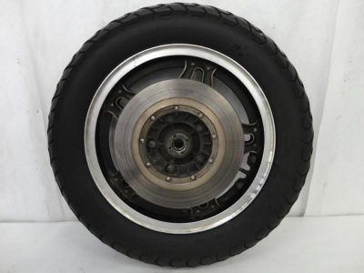 Find 1980-1983 Honda GoldWing GL1100 Rear Wheel, Rim, Tire, Rotor, & Axle 3159 motorcycle in Kittanning, Pennsylvania, US, for US $49.99