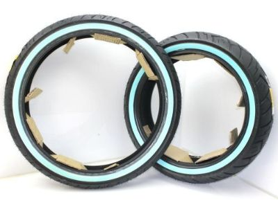Buy SHINKO SR777 WHITE WALL TIRE SET FRONT REAR 90/90-21 180/55-B 18 PAIR motorcycle in Maurertown, Virginia, United States, for US $237.99