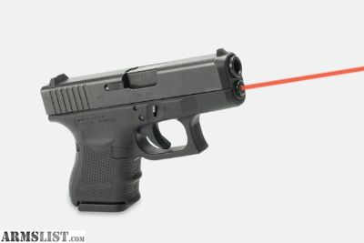 For Trade: Glock 26 with LaserMax guide rod laser