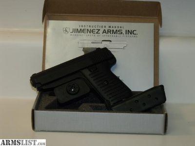 For Sale: Jimenez .380 ACP Semi Auto Pistol