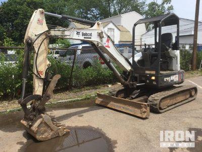 2012 Bobcat E35M Mini Excavator