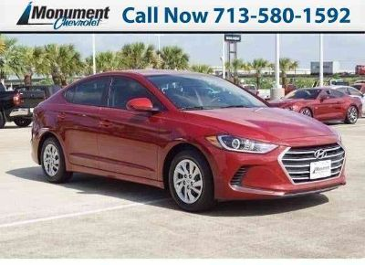 Used 2017 Hyundai Elantra 4dr Car