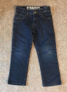 Gymboree Straight Jeans with Adjustable Waist Size 5