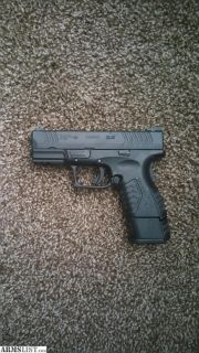 For Sale: Springfield XD-M 3.8 9mm