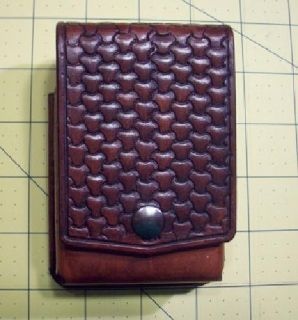 Handmade Leather Altoid Tin EDC Belt Pouch