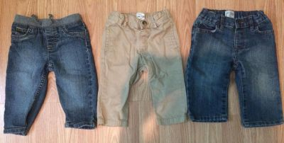 24 pair of 6-9 month pants