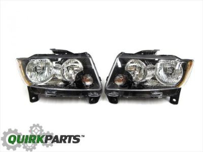 Buy JEEP GRAND CHEROKEE ALTITUDE TRAILHAWK RIGHT & LEFT HEADLIGHT LAMP OEM NEW MOPAR motorcycle in Braintree, Massachusetts, United States, for US $317.86