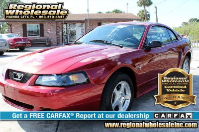 2003 Ford Mustang Base (Red)