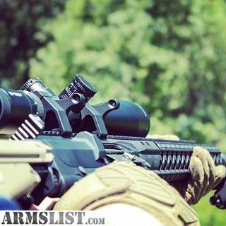 For Sale: ZeroBravo REOS Backup Iron Sights for 30mm Tube